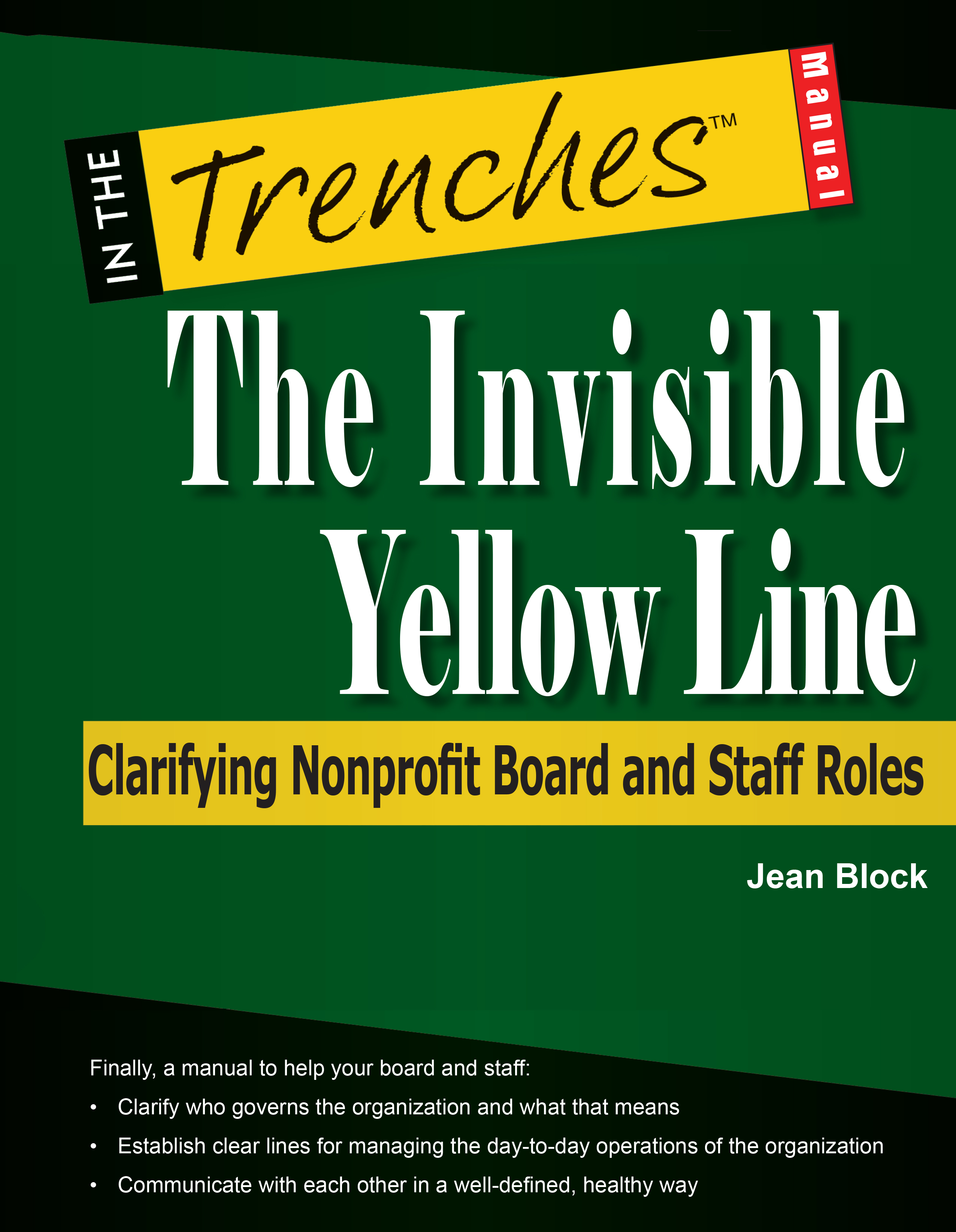 Clear up blurred lines of responsibility between nonprofit board and staff