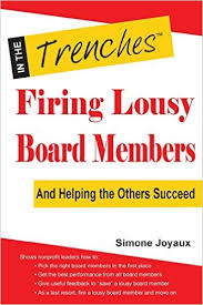 When board members are lousy: Simone Joyaux has answers